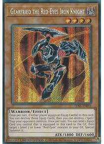Gearfried the Red-Eyes Iron Knight - LDS1-EN011 - Secret Rare