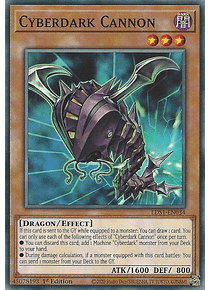 Cyberdark Cannon - LDS1-EN034 - Common