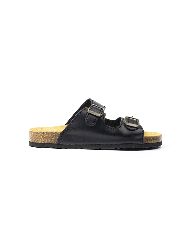 Black Litore Slipper