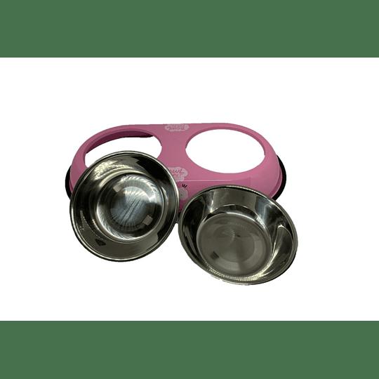 Plato Doble Aluminio