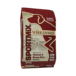 Wholesomes ™ Chicken Meal & Rice Formula