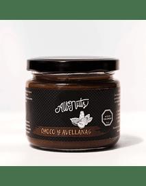 Choco y Avellanas Europeas 200 grs