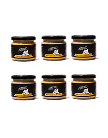 Pack 6 Mantequilla de maní 200g c/u