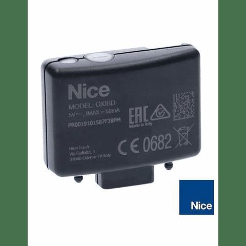 Receptora Nice OXI BD. Comunicación Bidireccional.