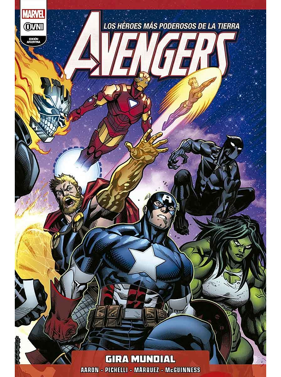 FRESH START - Avengers Vol.2: Gira Mundial OVNIPRESS