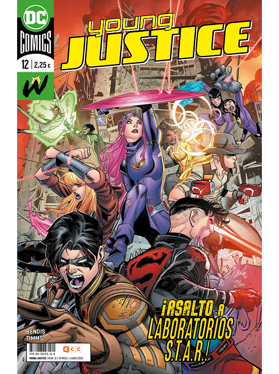 Young Justice núm. 12
