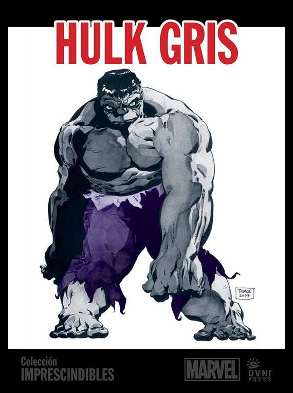 MARVEL-IMPRESCINDIBLES-#05 Hulk: Gris