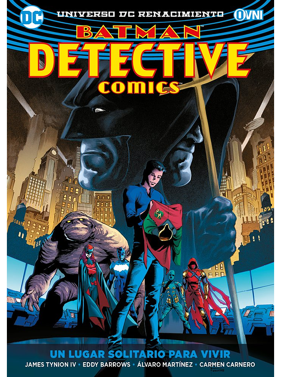 Detective Comic Vol. 05: Un Lugar Solitario Para Morir