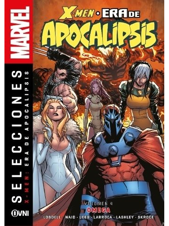 Selecciones Marvel -X-Men La Era de Apocalipsis Volumen 04