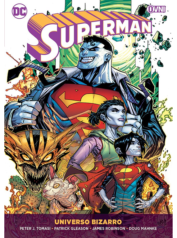 SUPERMAN Vol 05: Universo Bizarro