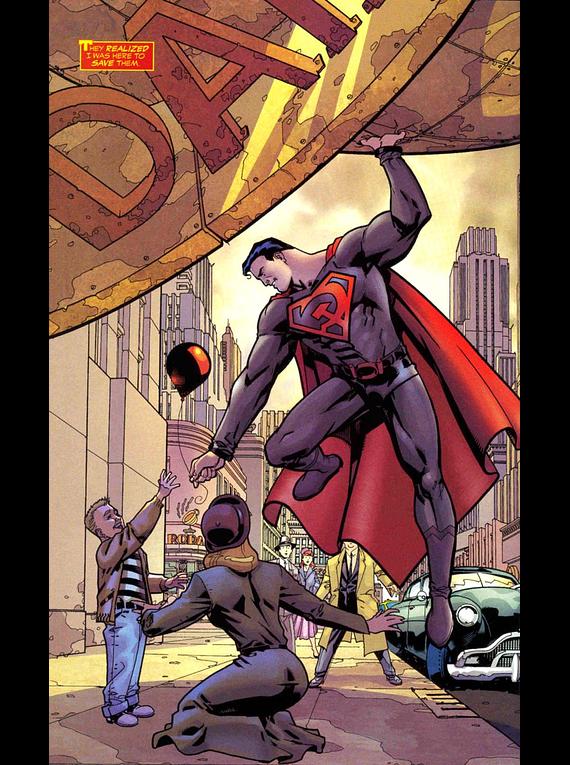 Batman y Superman - Colección Novelas Gráficas número 02: Superman: Hijo Rojo