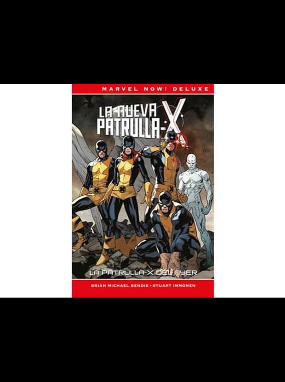 MARVEL NOW!: LA NUEVA PATRULLA-X 1 - LA PATRULLA-X DEL AYER