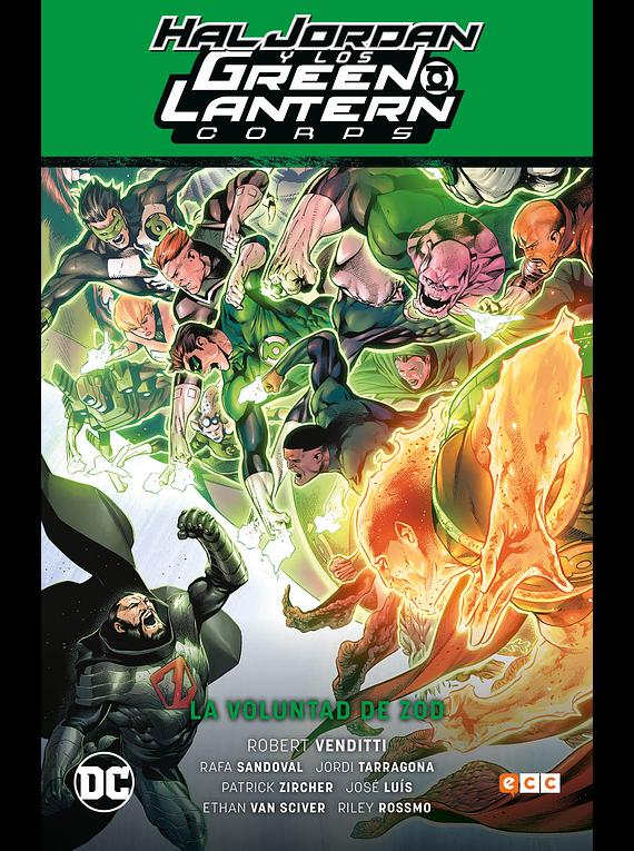 Hal Jordan y los Green Lantern Corps: LA VOLUNTAD DE ZOD / Renacimiento parte 3