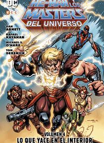 He-Man y Los Masters del Universo vol. 4