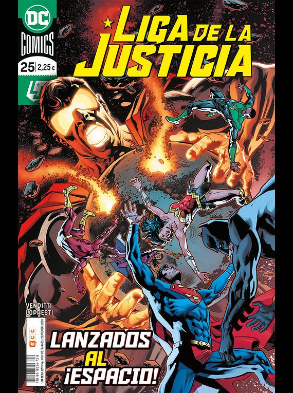 Liga de la justicia núm. 103/25