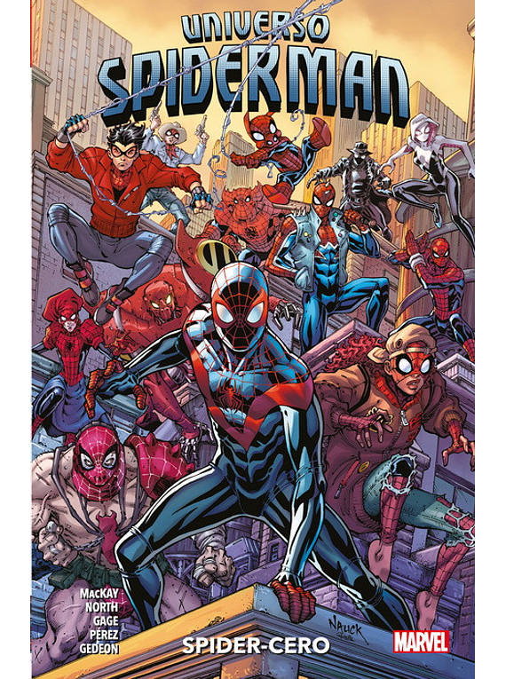 100% MARVEL COEDICIONES UNIVERSO SPIDERMAN. SPIDER-CERO 100% MARVEL