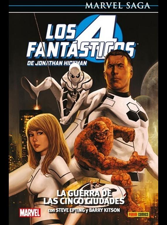 Marvel Saga 4 Fantasticos 4