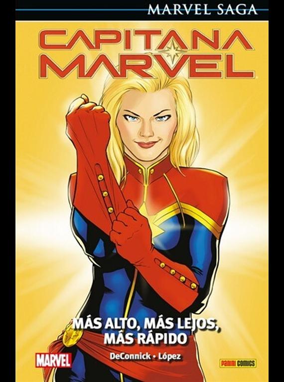 Marvel Saga Capitana Marvel 4
