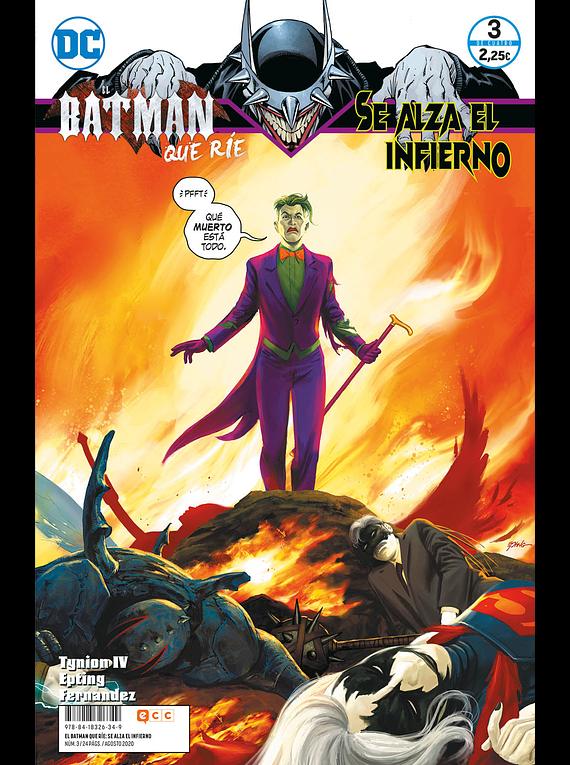 El Batman que ríe: Se alza el infierno 3