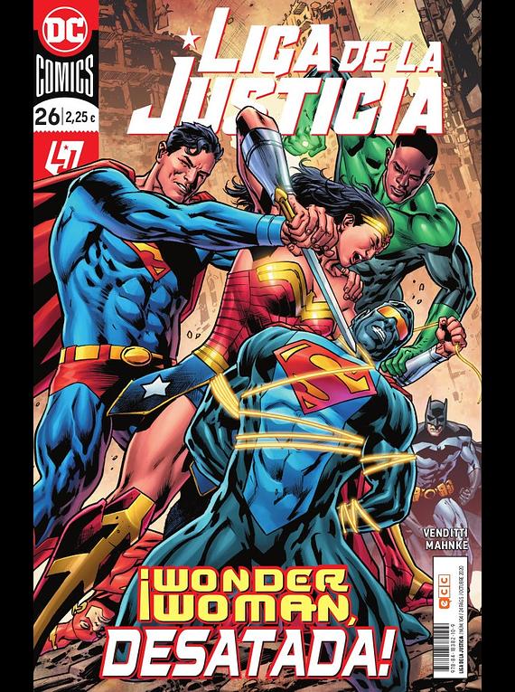 Liga de la justicia núm. 104/26