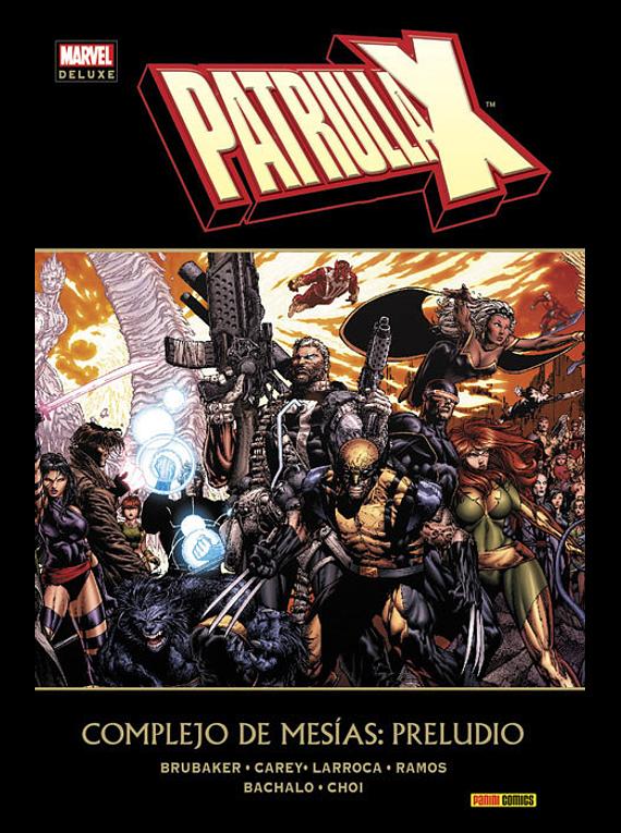 PAT.-X PRELUDIO A COMPLEJO DE MARVEL DELUXE