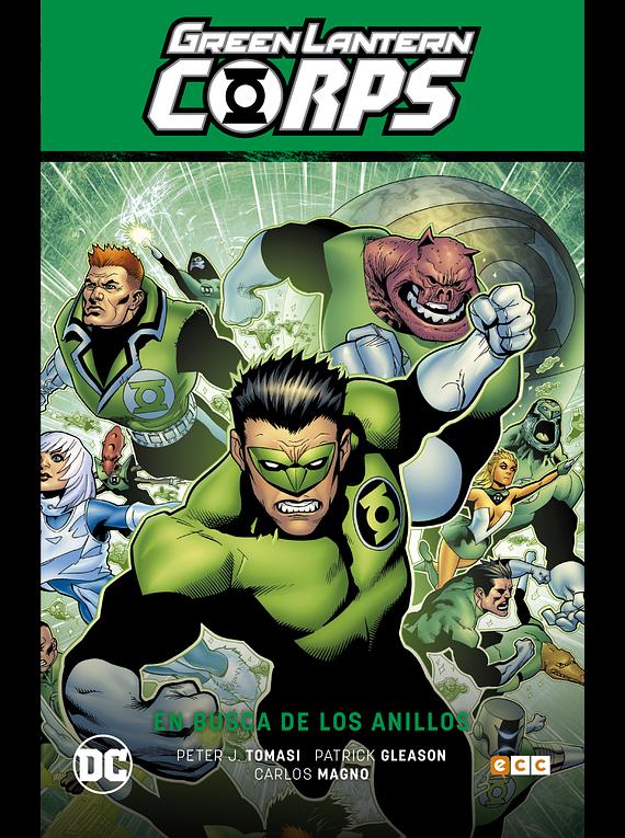 Green Lantern Corps Vol. 4: En busca de los anillos - Green Lantern Saga La noche más oscura Parte 2