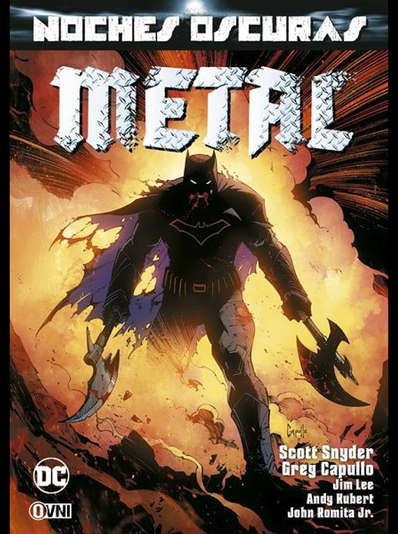 OVNIPRESS - ESPECIALES - Noches oscuras: Metal Vol. 1 (2da Edición)