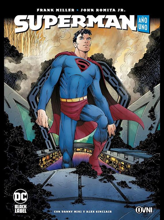 OVNIPRESS - BLACK LABEL - SUPERMAN: AÑO UNO