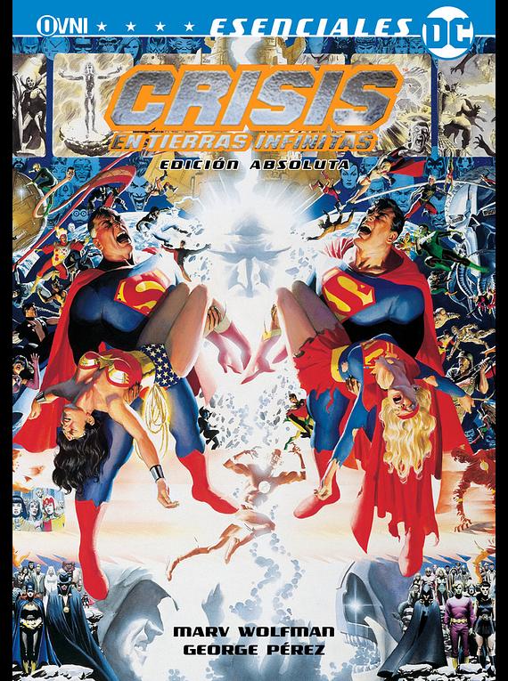 OVNIPRESS - ESENCIALES OVNIPRESS: CRISIS EN TIERRAS INFINITAS EDICION ABSOLUTA (2da Edición)