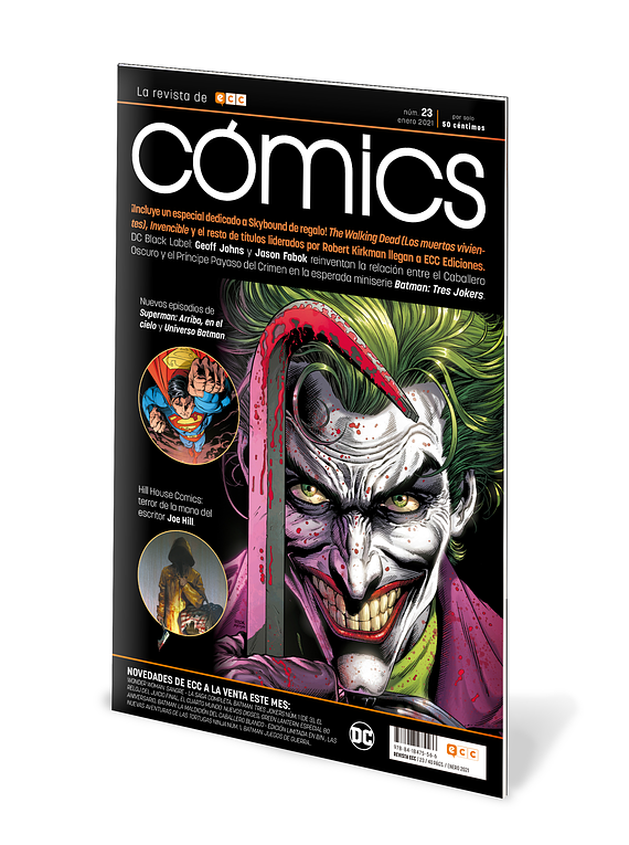 ECC Cómics núm. 23 (Revista) + Especial nueva licencia