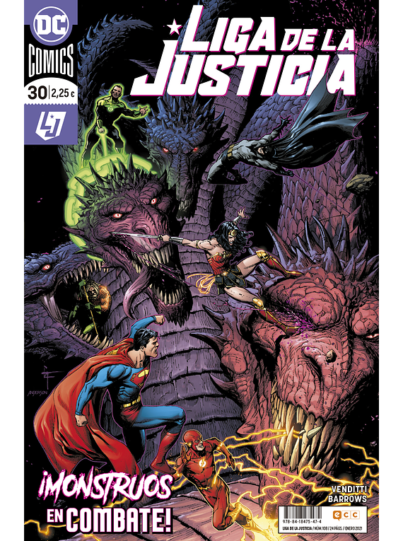 Liga de la Justicia núm. 108/30