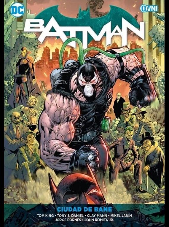 OVNIPRESS - ESPECIALES - Batman Vol. 11:CIUDAD DE BANE