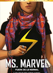 MARVEL MUST HAVE MS. MARVEL. FUERA DE LO NORMAL MARVEL MUST HAVE