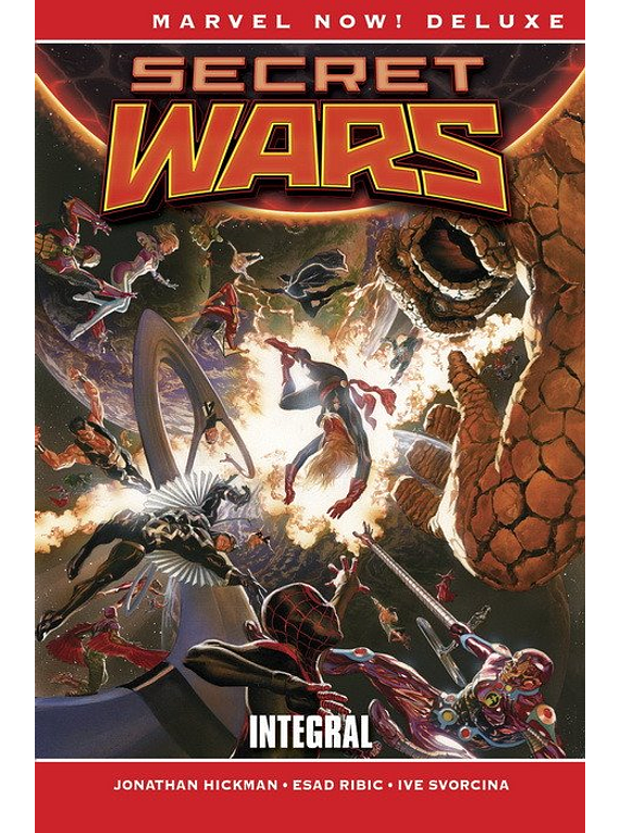 MARVEL NOW! DELUXE SECRET WARS. INTEGRAL MARVEL NOW! DELUXE