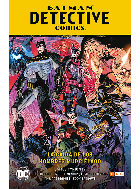 Batman: Detective Comics Vol. 6: La caída de los hombres murciélago (Batman Saga - Renacimiento parte 7)