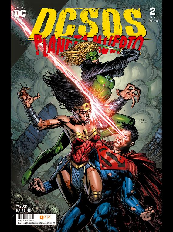 DCsos: Planeta Muerto núm. 2 de 6