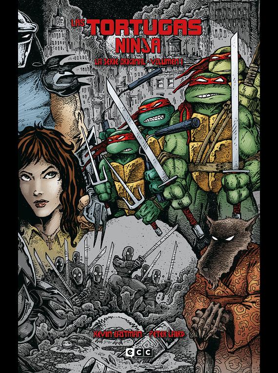 Las Tortugas Ninja: La serie original vol. 1 de 6