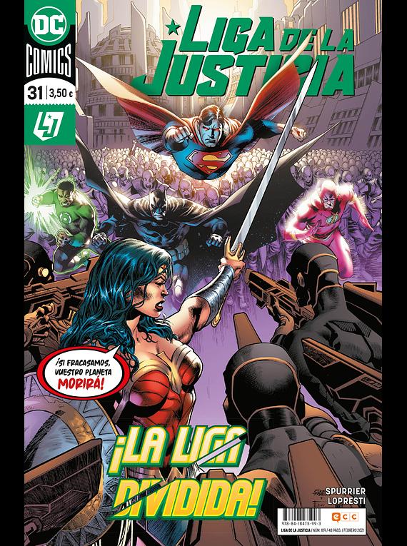 Liga de la Justicia núm. 109/31