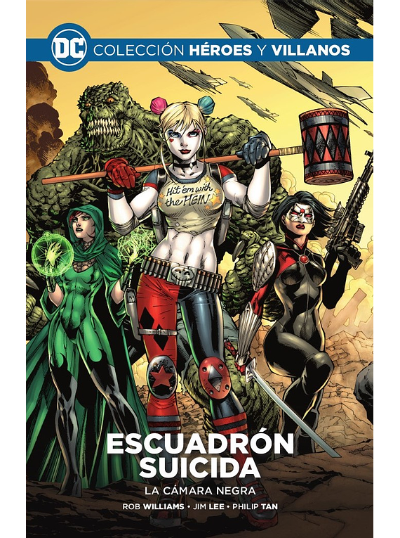 Colección Héroes y villanos vol. 03 - Escuadrón Suicida: La cámara negra