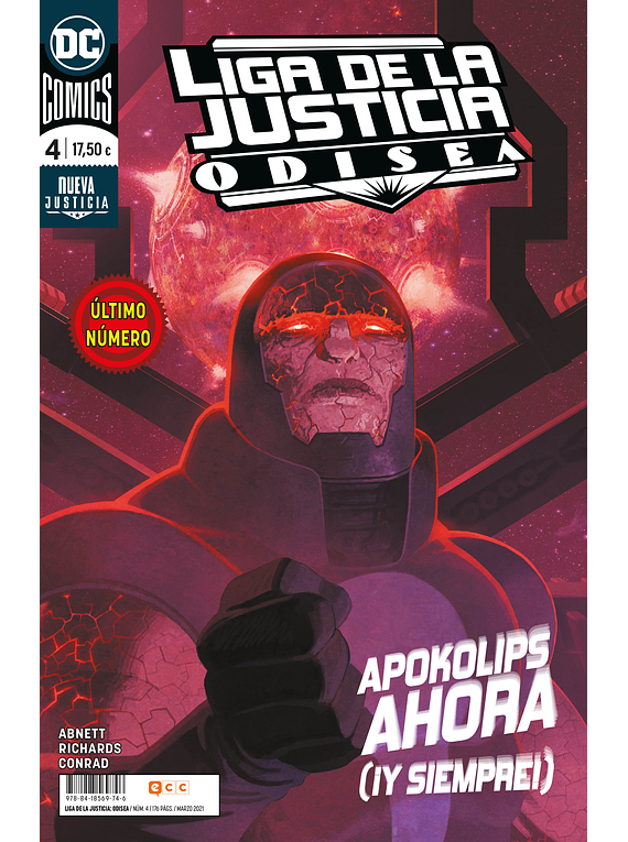 Liga de la justicia: Odisea núm. 04