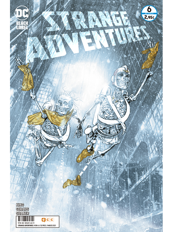 Strange Adventures núm. 6 de 12