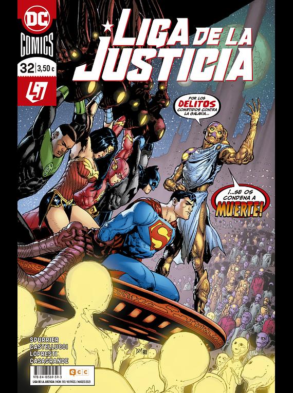 Liga de la justicia núm. 110/32