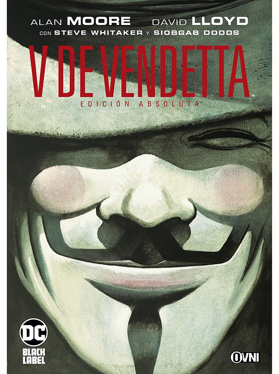 OVNIPRESS - DC - BLACK LABEL - V DE VENDETTA EDICIÓN ABSOLUTA