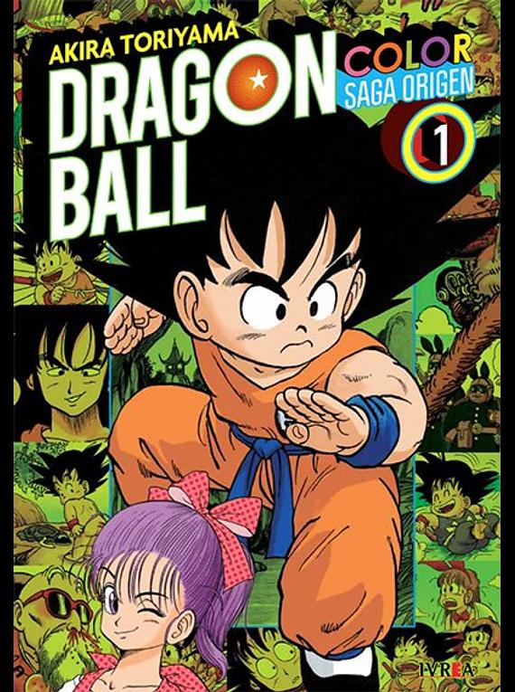 DRAGON BALL COLOR: SAGA ORIGEN 01
