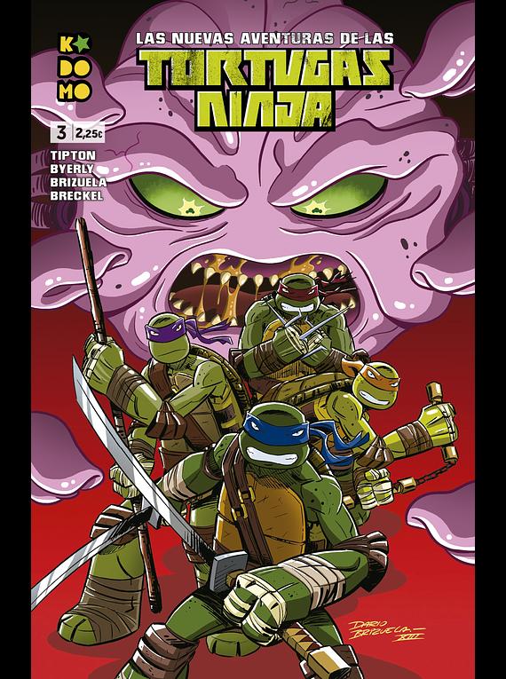 Las nuevas aventuras de las Tortugas Ninja núm. 3