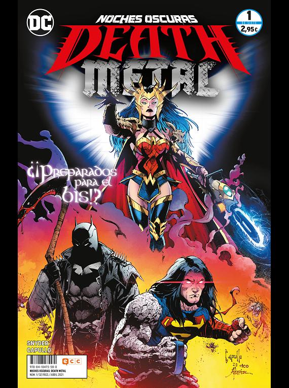 GRAPA Noches oscuras: Death Metal núm. 01 de 7