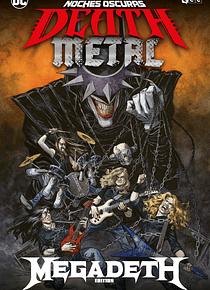 ECC Noches oscuras: Death Metal núm. 01 de 7 (Megadeth Band Edition) (Cartoné)