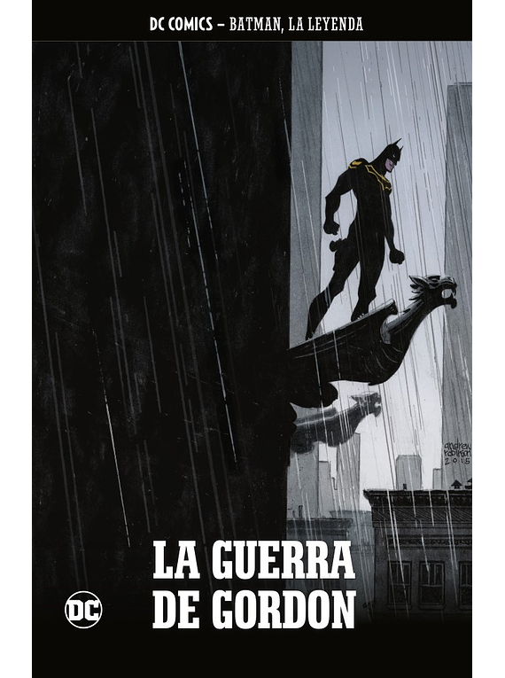 Batman, la leyenda núm. 50: La guerra de Gordon