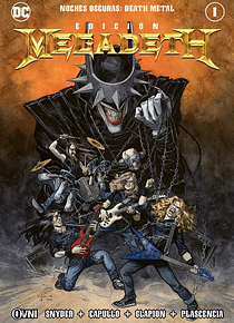 OVNIPRESS - Noches Oscuras: DEATH METAL #1 ~ Edición MEGADETH ~