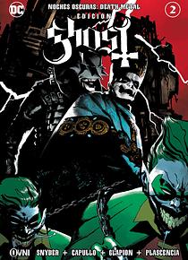 OVNIPRESS - BATMAN Noches Oscuras: DEATH METAL #2 ~ Edición GHOST ~